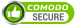 Comodo Seal stating that our site is secure